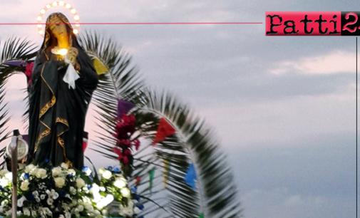 PATTI – Festeggiamenti in onore di Maria Santissima Addolorata a Marina di Patti