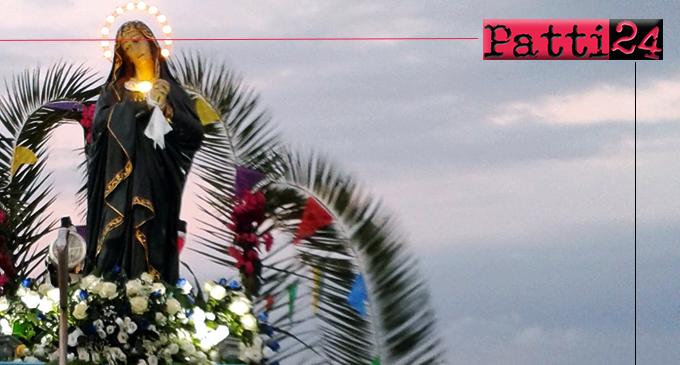 PATTI – I festeggiamenti in onore di Maria Santissima Addolorata a Marina di Patti