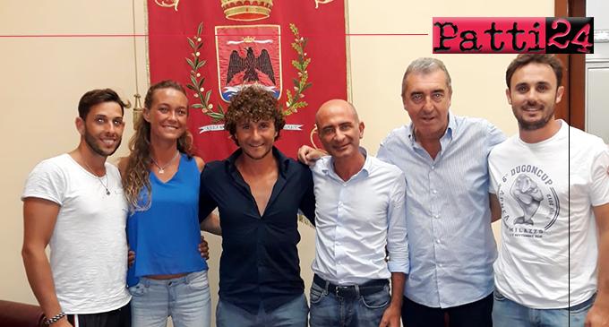 MILAZZO – L'Amministrazione incontra i due atleti che hanno fatto il record di apnea