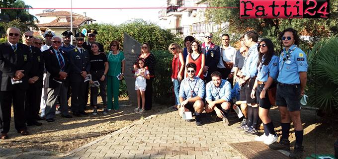 BROLO – Ricordato il Giudice Rosario Livatino con la premiazione degli studenti e l'omaggio alla stele