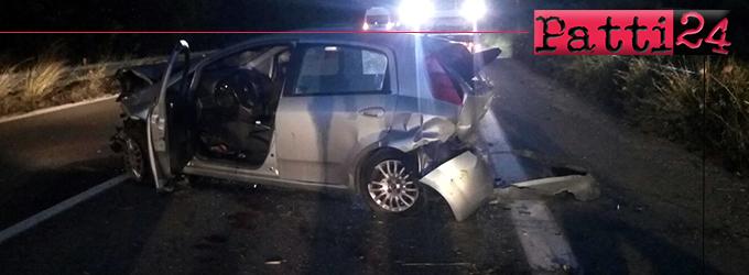 A20 – Grave incidente stradale tra Barcellona e Milazzo direzione Messina. Tre feriti