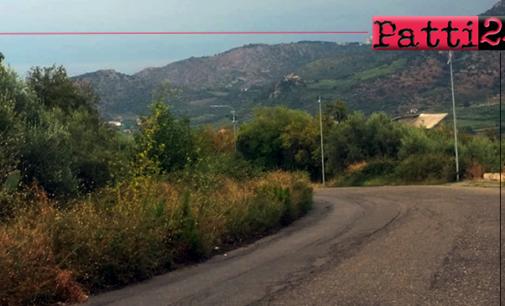 PATTI – Via Pertini. Altro emblema di incuria e di abbandono, perbacco.