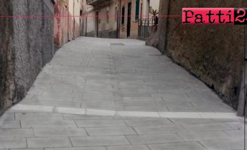 PATTI – Quartiere Sant'Antonio. Lavori di riqualificazione non ancora consegnati