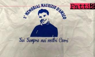 """PATTI – 1° memorial """"Maurizio D'Amico"""" con il patrocinio dei comuni di Patti e di San Piero Patti"""