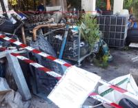MESSINA – Polizia Metropolitana, controllate aziende ed autofficine. Individuata autofficina dove erano depositati rifiuti speciali pericolosi