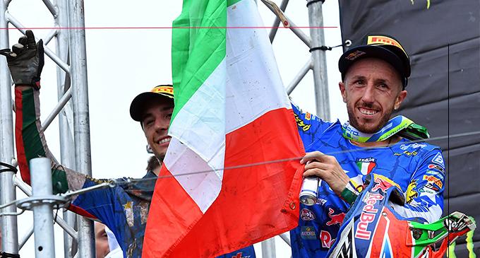 MOTOCROSS DELLE NAZIONI – Tony Cairoli è stato uno dei protagonisti della squadra italiana che è andata vicina alla conquista del titolo