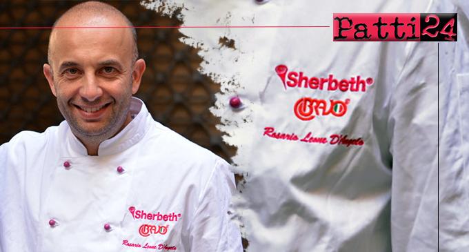 MILAZZO – Il maestro gelatiere Rosario Leone D'Angelo conquista il podio dello Sherbeth – il Festival Internazionale del Gelato Artigianale