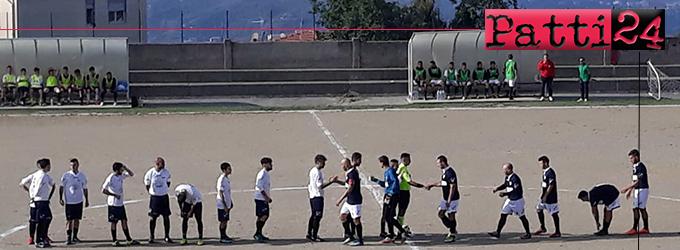 PATTI – Nuova Rinascita Patti. Punteggio pieno dopo tre partite, testa solitaria della classifica, 6 gol fatti e nessuno subito