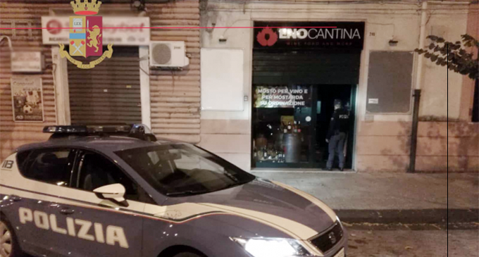 MESSINA – Stavano rubando in un'enoteca. Arrestati in flagranza di reato