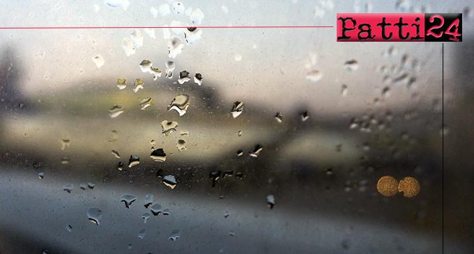 PATTI – E' sufficiente un'ora di pioggia battente per creare gravi disagi sul territorio comunale.