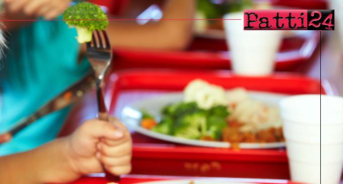 PATTI – Scuola. Domande buoni pasto gratuiti per famiglie economicamente svantaggiate