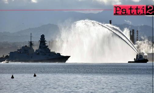 """MILAZZO – La nave """"Rizzo"""" è arrivata nel porto di Milazzo. Al via il programma degli eventi, disposte modifiche circolazione stradale"""