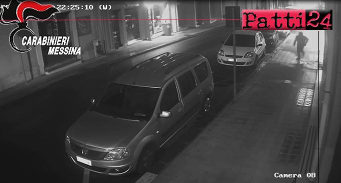 SANTA TERESA DI RIVA – Avrebbero fatto esplodere ordigno a ridosso della vetrina di un negozio. Arrestati mandante ed esecutore materiale