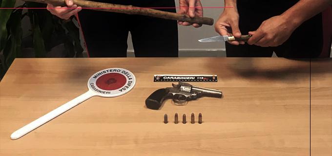 SAN FRATELLO – In possesso di una pistola con matricola abrasa. Arrestato 50enne