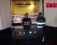 VILLAFRANCA TIRRENA – Sequestrati oltre 300 kg di prodotto ittico destinato ad esercizi commerciali in provincia