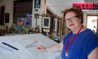 PATTI – La particolare attività di studio portata avanti dalla maestra d'arte pattese Angela Giordano Lo Ricco in un evento a Brolo