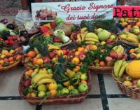 """PATTI – La parrocchia """"Sacro Cuore di Gesù"""" ha celebrato la """"Giornata del Ringraziamento"""", promossa dalla Coldiretti"""
