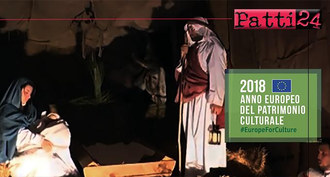MILITELLO ROSMARINO – Il Presepe Vivente dei Nebrodi potrà fregiarsi del marchio dell'Anno Europeo del Patrimonio Culturale 2018