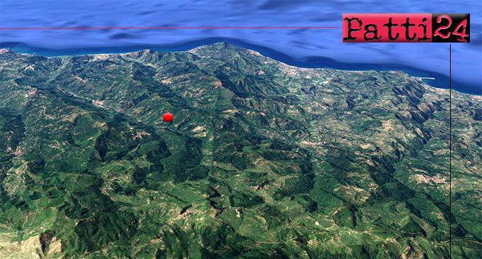 RACCUJA – Lieve sisma di magnitudo ML 2.1 con epicentro a 3 km da Raccuja e Ucria con ipocentro ad appena 8 km