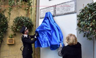 MESSINA – Inaugurate due targhe in memoria del V.B. Salvo D'Acquisto e del Generale Carlo Alberto Dalla Chiesa