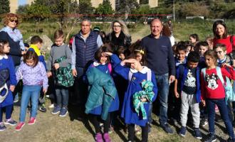 CAPO D'ORLANDO – L'Istituto Comprensivo n. 1 in visita all'acquedotto comunale di contrada Masseria