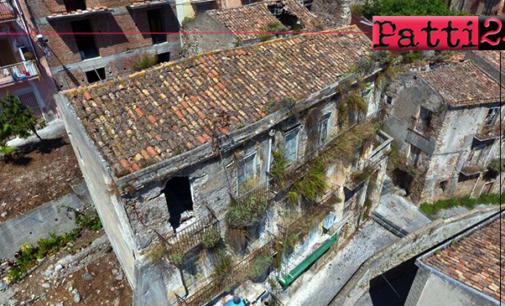 PATTI – Il comune affida incarico per recupero 47.336,00 euro per messa in sicurezza immobile in via Vescovo Natoli