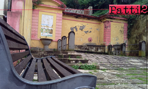 PATTI – Interventi di recupero per i Murales di via Orti e la fontana di San Leonardo.