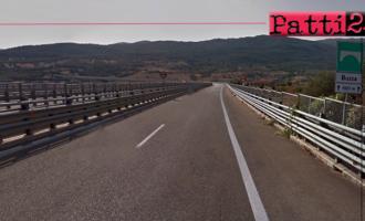 A20 – Per accertamenti tecnici dei due Viadotti Buzza disposta provvisoria chiusura corsia di sorpasso
