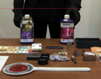 LIPARI – Arrestati padre e figlio per detenzione ai fini di spaccio di sostanze stupefacenti.