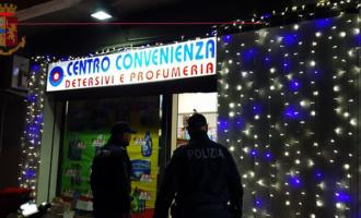 """MESSINA – Rapina  il """"Centro Convenienza"""". Identificato in 120 secondi."""