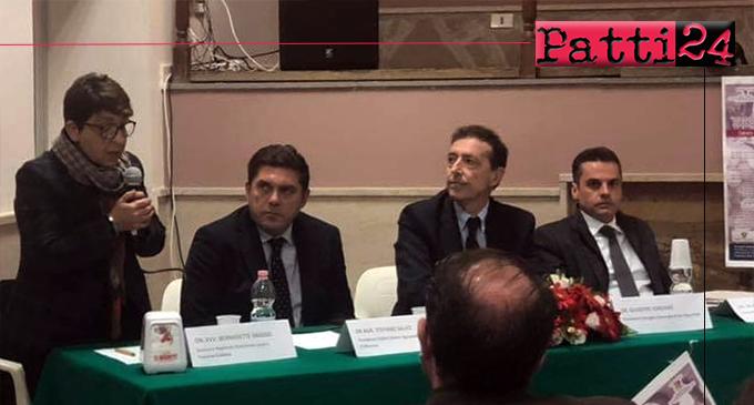 SAN PIERO PATTI – Nuove speranze per la corilicoltura siciliana. Presentato l'Accordo di Filiera e le strategie regionali alla presenza di Grasso e Bandiera