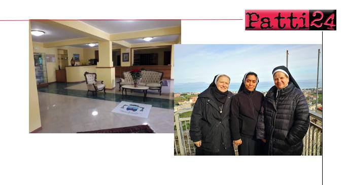 PATTI – Sacra Famiglia. Inaugurazione casa di accoglienza per familiari di ammalati ricoverati nell'ospedale di Patti