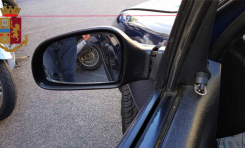 MESSINA – La Polizia blocca coniugi specializzati nella truffa dello specchietto. Foglio di via obbligatorio per entrambi