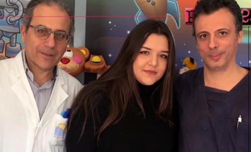 MESSINA – Donati giochi ai piccoli pazienti del Policlinico dalla giovane Oriana Piccirillo