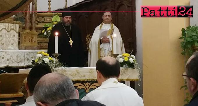 GIOIOSA MAREA – Celebrazione dei vespri alla presenza dell'Archimandrita Paolo Patricolo, della Sacra Arcidiocesi Ortodossa d'Italia