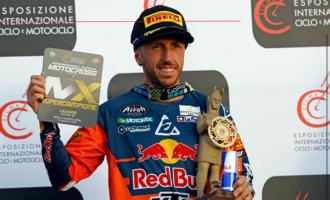 PATTI – Tony Cairoli vince la prima prova degli Internazionali d'Italia e punta a riappropriarsi del titolo mondiale della MXGP