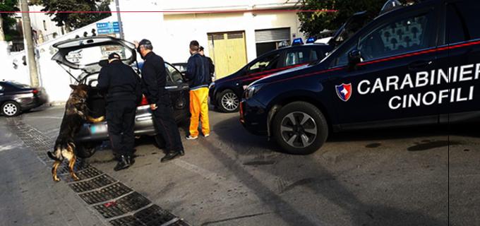 NASO – Detenzione illecita di sostanze stupefacenti. Arrestato 48enne del luogo