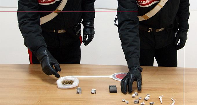 SAN FILIPPO DEL MELA – Detenzione di marijuana ed hashish. Arrestato 47enne