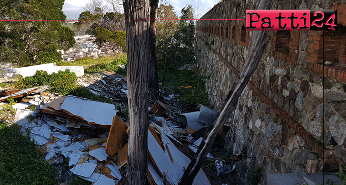 MESSINA – Discarica abusiva a Forte Schiaffino, sequestrata l'area per la presenza di amianto