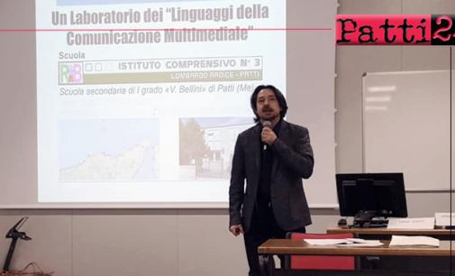 """PATTI – Scuola. L'esperienza del laboratorio sui """"Linguaggi della comunicazione multimediale"""" presentata a Milano"""