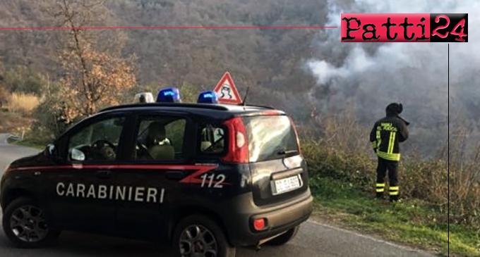 MIRTO – Allevatore 48enne appicca incendio boschivo. Arrestato in flagranza.