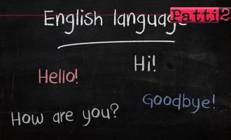 PATTI – I° corso di inglese turistico