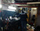 MESSINA – Sequestrate attrezzature in officina abusiva. 7.401,00 euro di sanzioni per le irregolarità riscontrate.