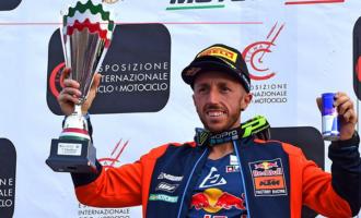 PATTI – Il pilota pattese Tony Cairoli ha dominato anche la seconda prova degli Internazionali d'Italia di motocross