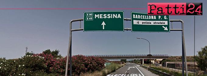 """BARCELLONA P.G. – A20. Dal 25 marzo al 5 aprile il cavalcavia ferroviario """"Barcellona"""" dovrà essere sottoposto ad interventi manutentivi."""