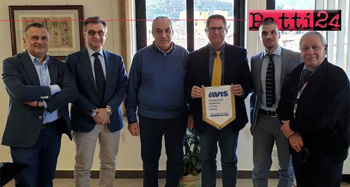 MESSINA – ASP Messina, gettate le basi per una fruttuosa sinergia con l'AVIS provinciale
