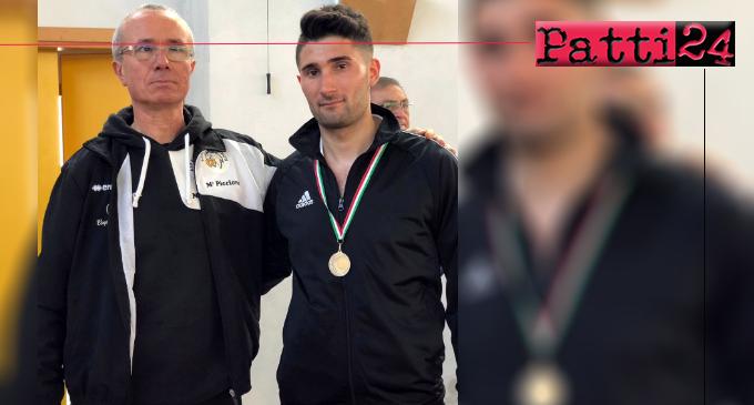 PATTI – Medaglia d'argento per Mattia Campochiaro ai Campionati Regionali Assoluti di karate – specialità kumitè