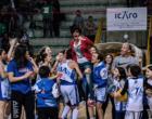 """PATTI – L'Alma Basket Patti conquista l'accesso alla fase nazionale ed il diritto di giocarsi la """"vera"""" finale regionale."""