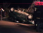 SAN PIERO PATTI – Incidente stradale autonomo. Auto esce fuori strada e si ribalta, 2 feriti .