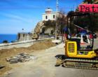 CAPO D'ORLANDO – Primo intervento sul lungomare Doria